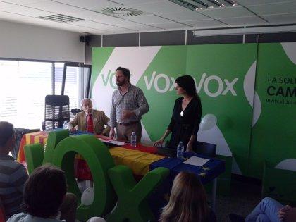 """Abascal (VOX) pide """"no entregar Valencia al caballo de Troya del separatismo catalán"""""""