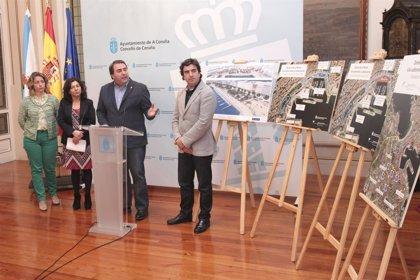 El Ayuntamiento de A Coruña pondrá en marcha el lunes el plan de tráfico por las obras del vial subterráneo de La Marina