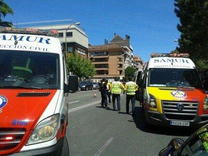 Atropelladas dos mujeres de 40 y 25 años en la calle Alcalá