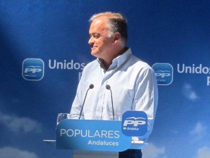 """González Pons (PP) se compromete con los proyectos de la provincia porque """"Europa empieza en Cádiz"""""""