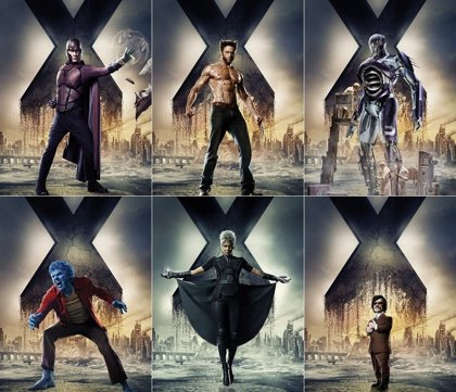 Avalancha de carteles de X-Men: Days of Future Past