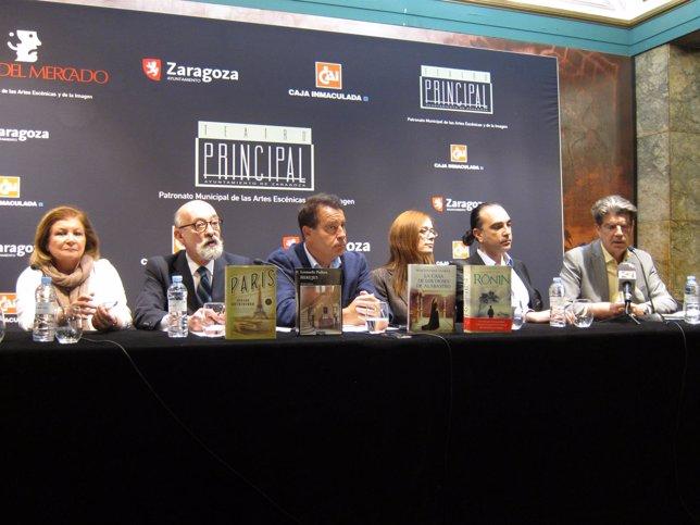 Presentación de la obra ganadora del X Premio de Novela Histórica de Zaragoza