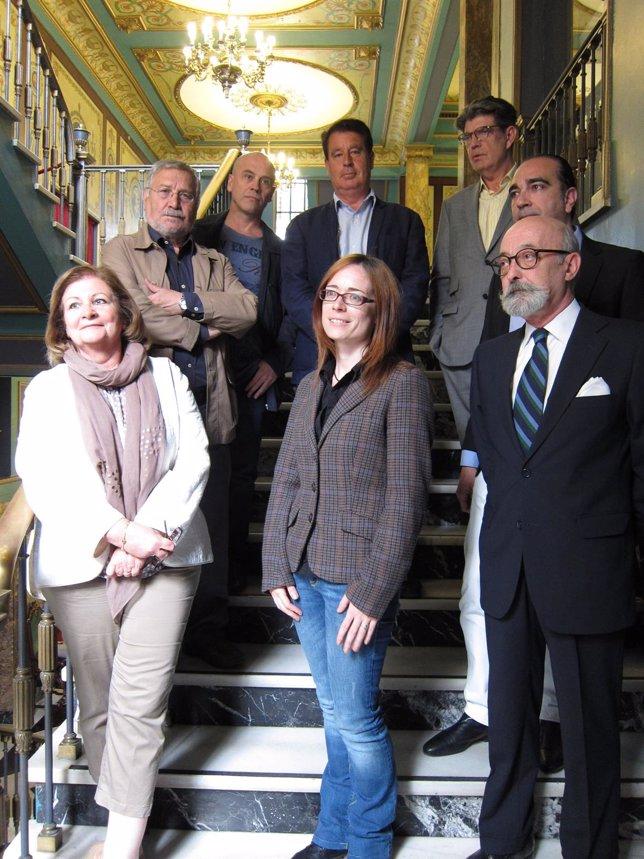 Jurado de la X edición del Premio de Novela Histórica de Zaragoza