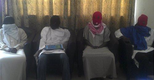 Miembros del grupo terrorista Boko Haram