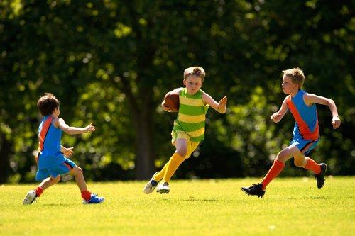 Niños, deporte
