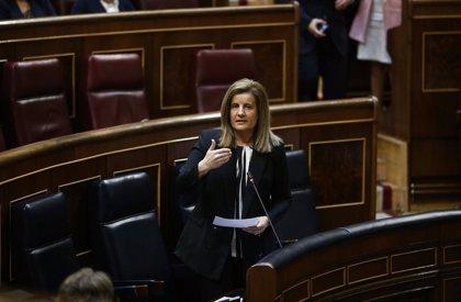 Economía.- Báñez se apoya en datos para negar la acusación del PSOE de que ésta será una legislatura perdida en empleo