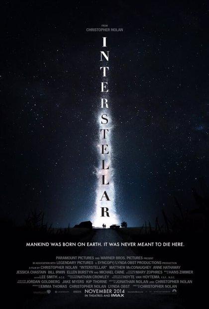 Primer teaser póster de Interstellar, lo nuevo de Christopher Nolan