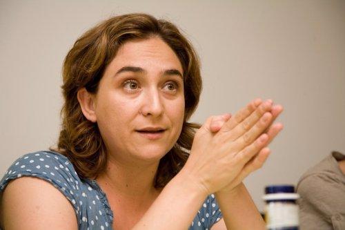 Ada Colau en universidad verano El Escorial