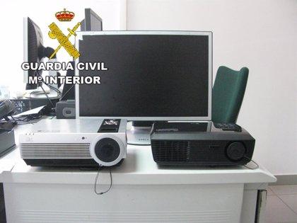 Detenido tras robar material informático en un local de la Concejalía de Cultura de Teror (Gran Canaria)