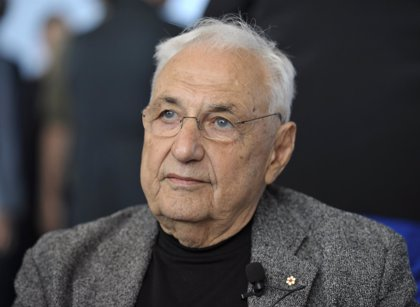 El arquitecto Frank Gehry, Premio Príncipe de Asturias de las Artes 2014