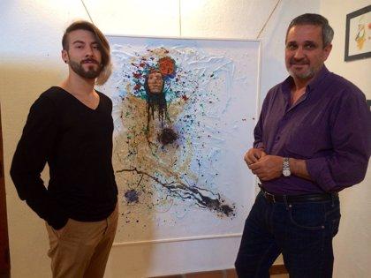 El artista José María García expone 'Faces & Lines' en el Museo Municipal de Cáceres