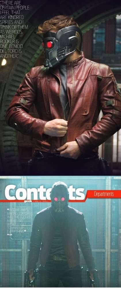 Star-Lord luce uniforme en las nuevas imágenes de 'Guardianes de la galaxia'