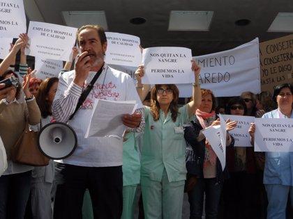 """PRC secunda el 'Abrazo' a Sierrallana y exige que se """"ponga fin"""" al """"desmantelamiento de la sanidad pública"""""""