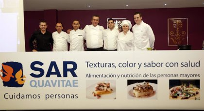 SARquavitae organizan una jornada con 'chefs' sobre alimentación y nutrición de las personas mayores