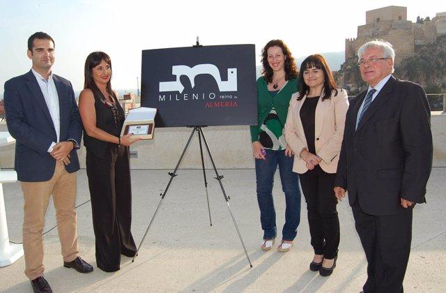 Presentación del logo del 'Milenio del Reino de Almería'
