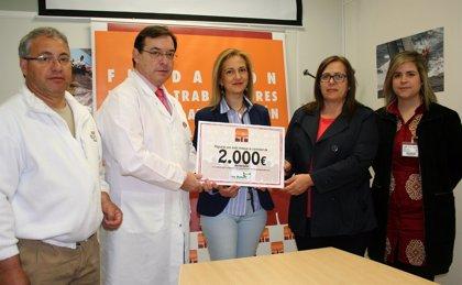 Fundación de los Trabajadores de ElPozo Alimentación donan 2.000 euros para ayudar a curar a drogodependientes