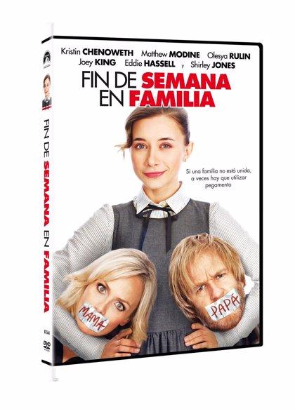 Sorteo: ¡Tres DVD de Fin de Semana en Familia!