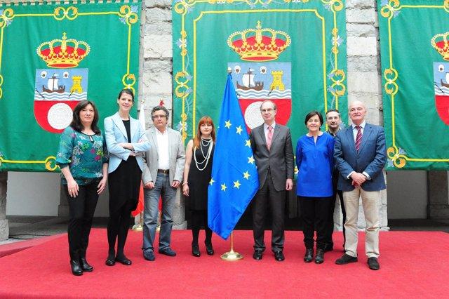 Celebración del Día de Europa en el Parlamento