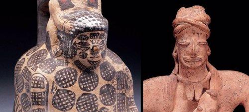 Esculturas de mujeres preshispánicas