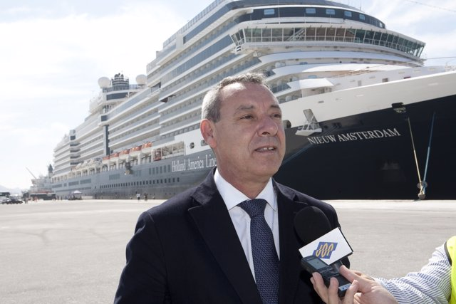 Francisco Álvarez de la Chica, presidente Autoridad Portuaria Motril