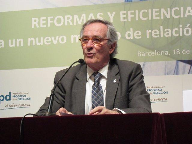 El alcalde Xavier Trias