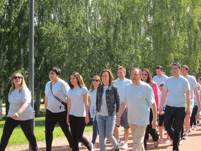 Marcha joven por Europa, organizada por NNGG de La Rioja