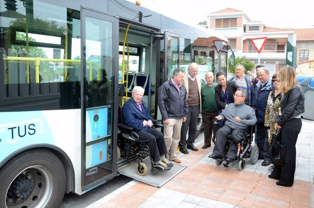 Nueva parada accesible en Monte