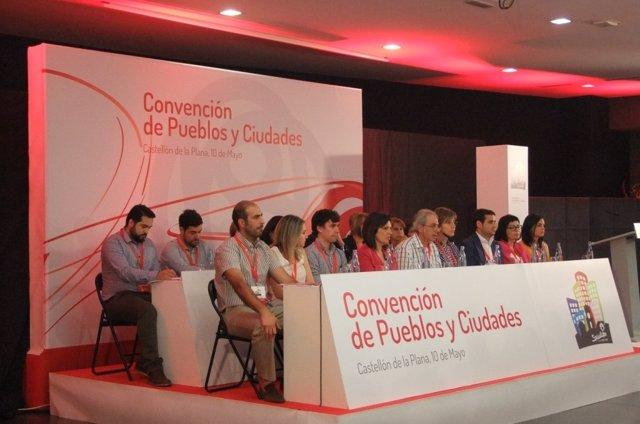 II Convención de Pueblos y Ciudades del PSPV en Castellón.