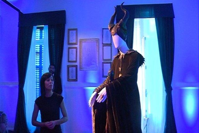 Exposición de 'Maléfica, la película'