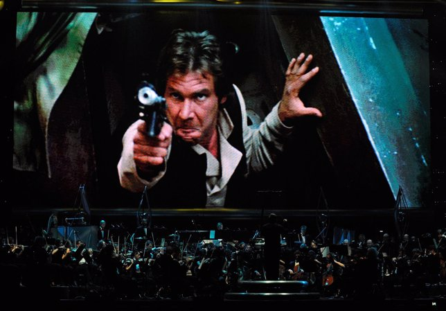 Harrison Ford como Han Solo en Star Wars