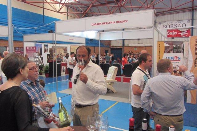 Un total de 50 expositores ofertan productos y servicios en Expo Borja.