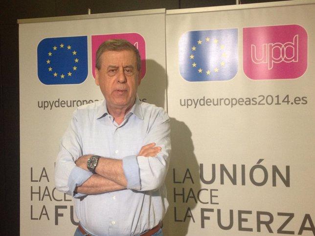 Sosa Wagner, en el acto de UPyD celebrado en Valladolid.