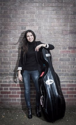 La violonchelista Ana Laura Iglesias