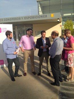 El candidato de UPyD a las elecciones europeas, Carlos Aparicio.