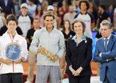Foto: La Reina y su exyerno Jaime de Marichalar, coinciden en la final del Mutua Madrid Open