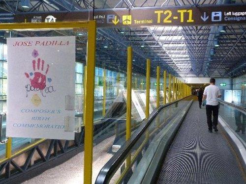 Exposición José Padilla T2 Barajas