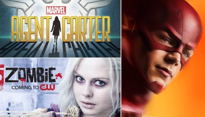 Nuevos carteles de The Flash, iZombie y Agent Carter