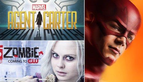 Nuevos pósters de The Flash, iZombie y Agent Carter