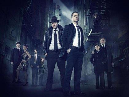 Gotham: Batman, Catwoman, Enigma y Pingüino, juntos en la nueva imagen