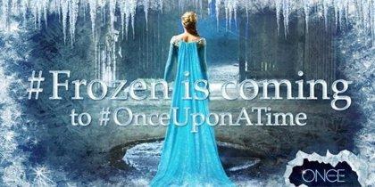 Elsa, la princesa de Frozen, en carne y hueso para Once Upon A Time