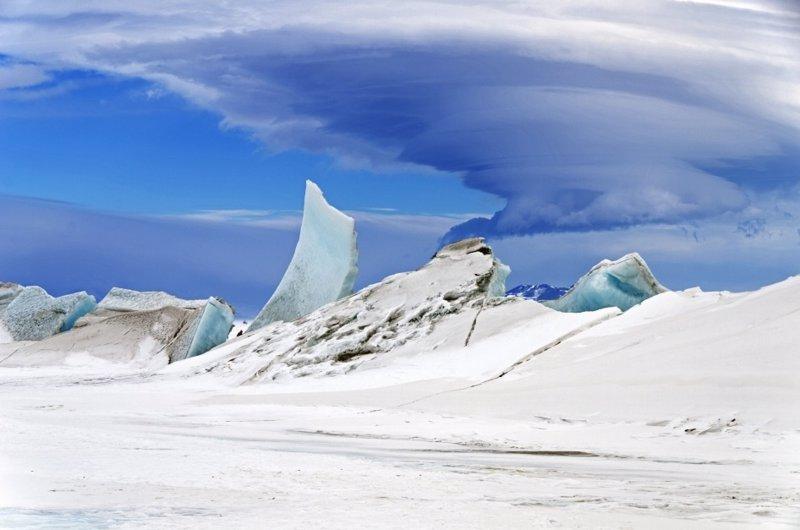 Maravillas en el cielo de la Antártida