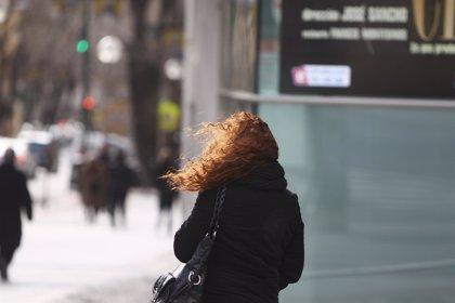 Alerta amarilla por vientos en Aragón este martes