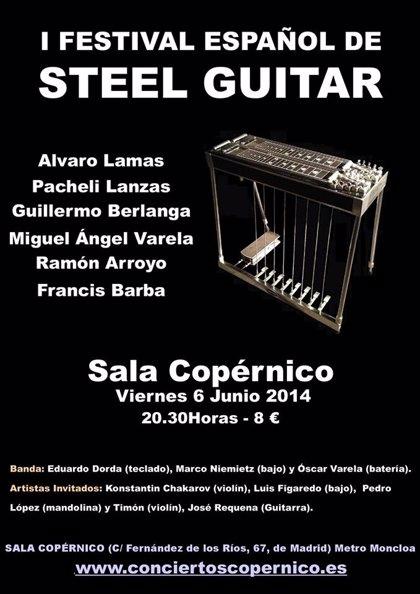 Madrid acoge el primer Festival Español de Steel Guitar