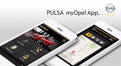 Opel lanza en España su aplicación gratuita myOpel App