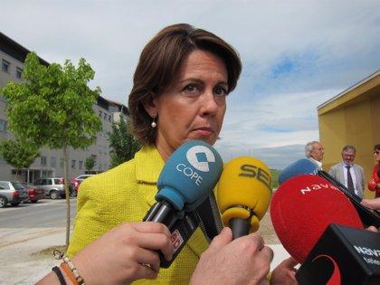 Barcina anima a todos los navarros a votar en las elecciones europeas