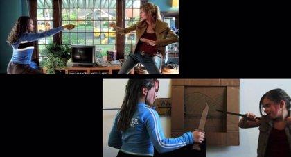Así es una pelea de Kill Bill en versión infantil