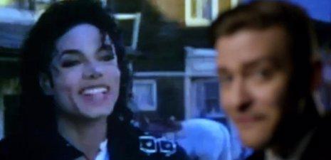 Michael Jackson y Justin Timberlake