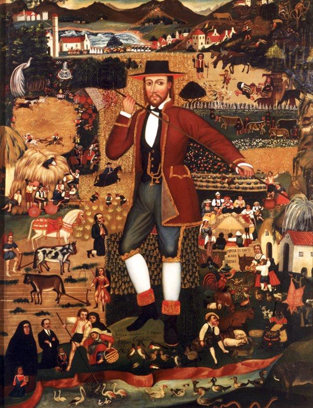 San Isidro por Joaquín Castañón