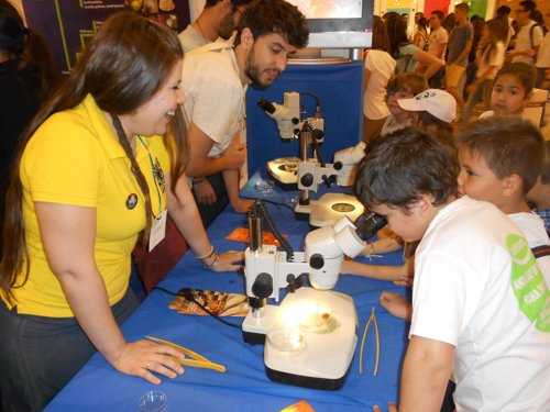 Celebración de la XII Feria de la Ciencia