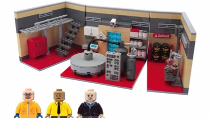 ¡El set de Lego de Breaking Bad!